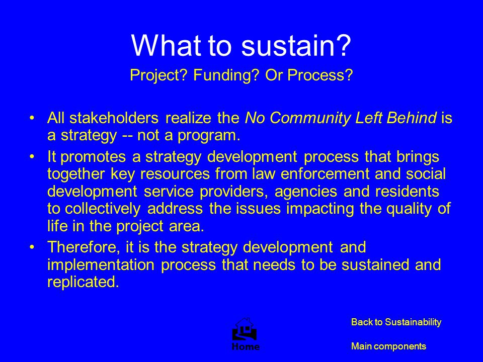 Project Funding Or Process