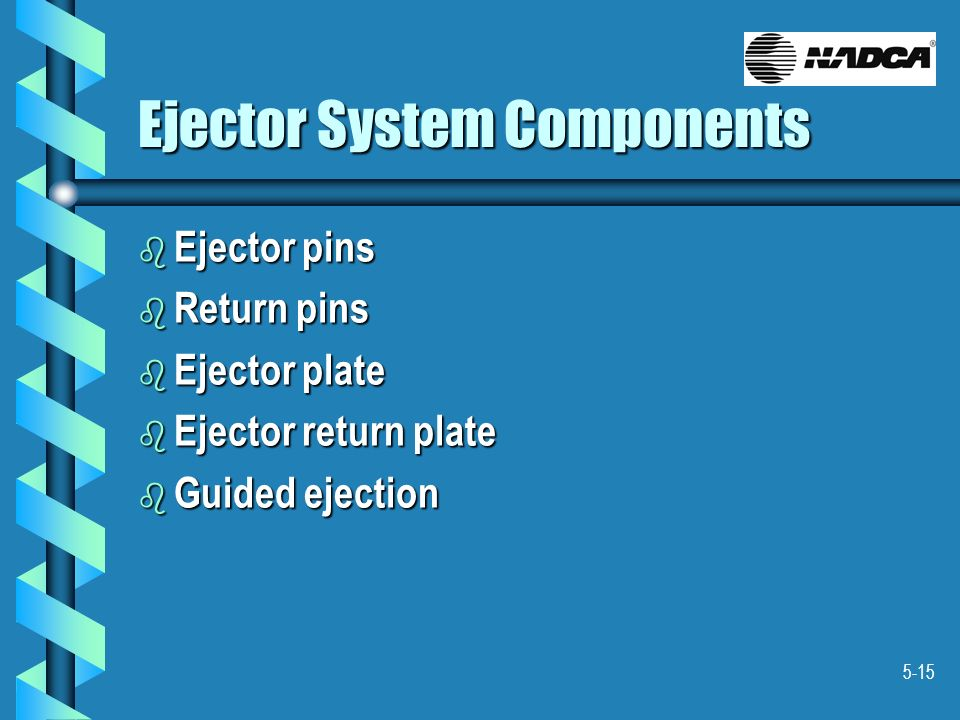 Ejector System Components
