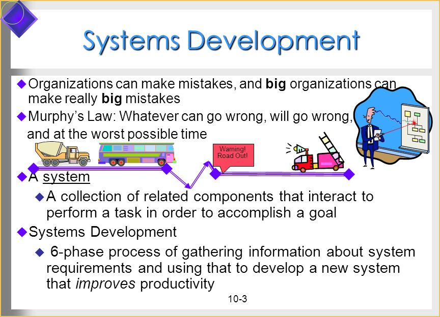 Systems Development A system