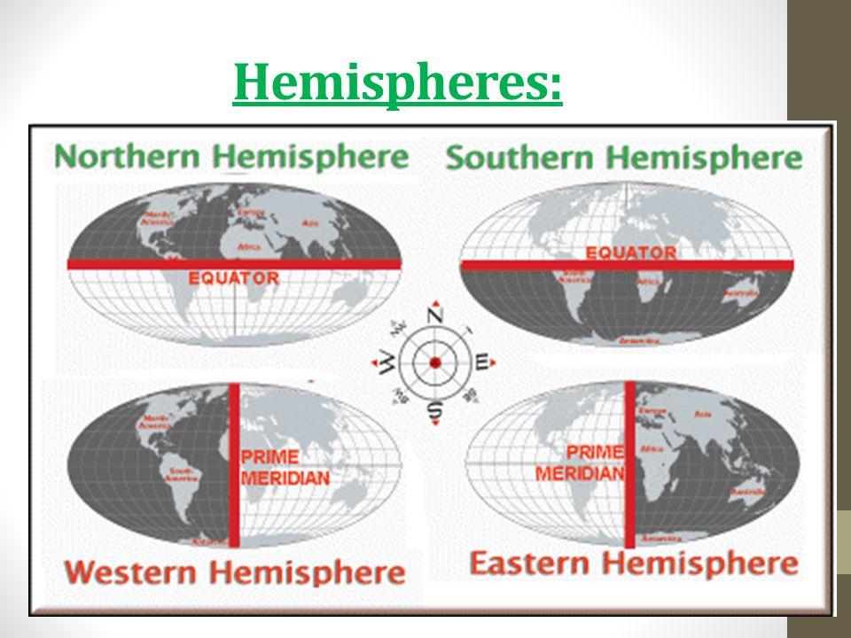 Hemispheres: