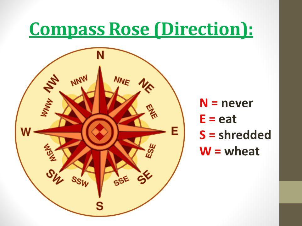 Compass Rose (Direction):