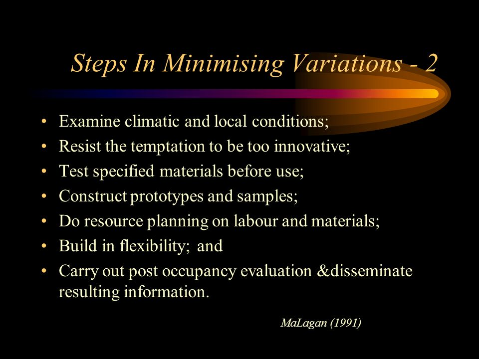 Steps In Minimising Variations - 2