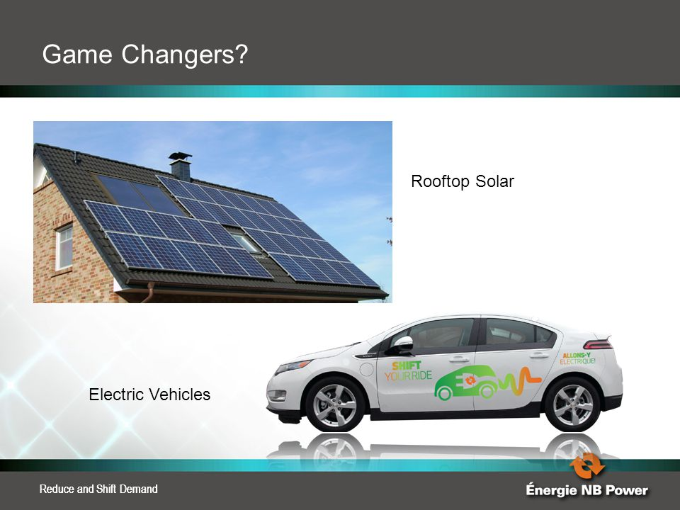 Game Changers Rooftop Solar Electric Vehicles Reduce and Shift Demand