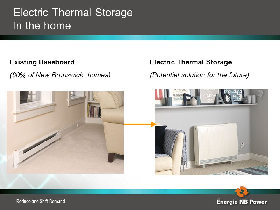 Electric Thermal Storage In the home