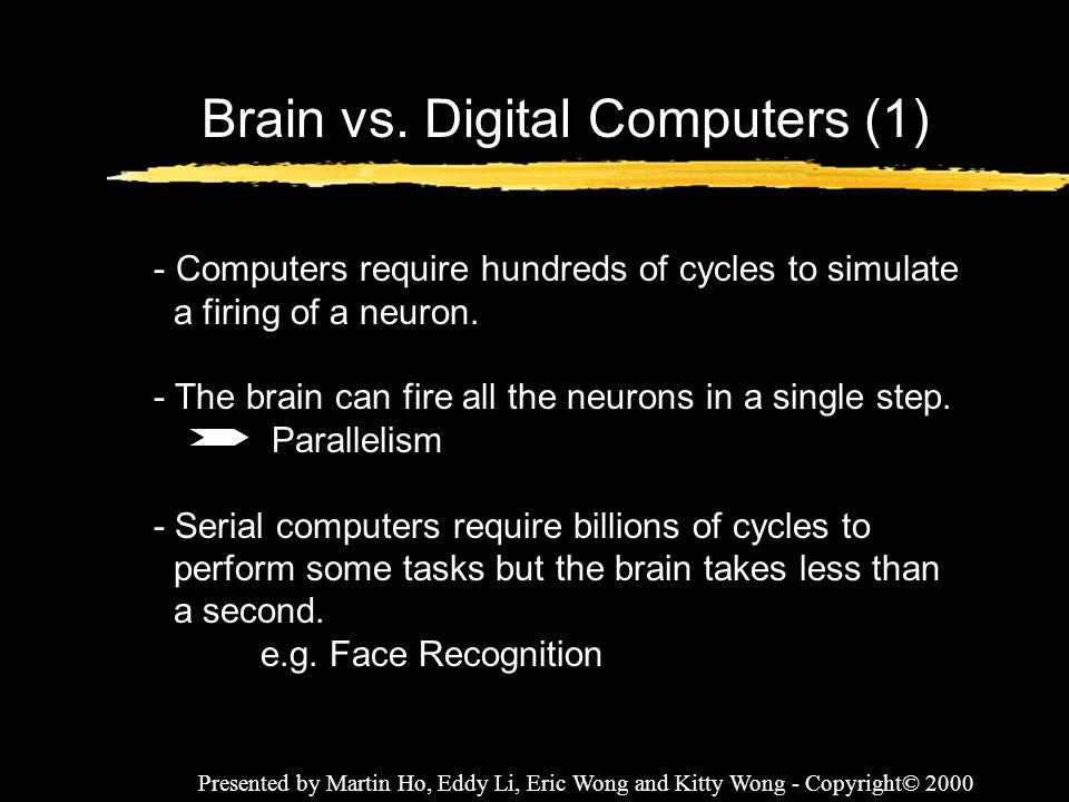 Brain vs. Digital Computers (1)