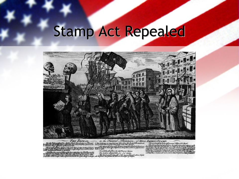 Stamp Act Repealed