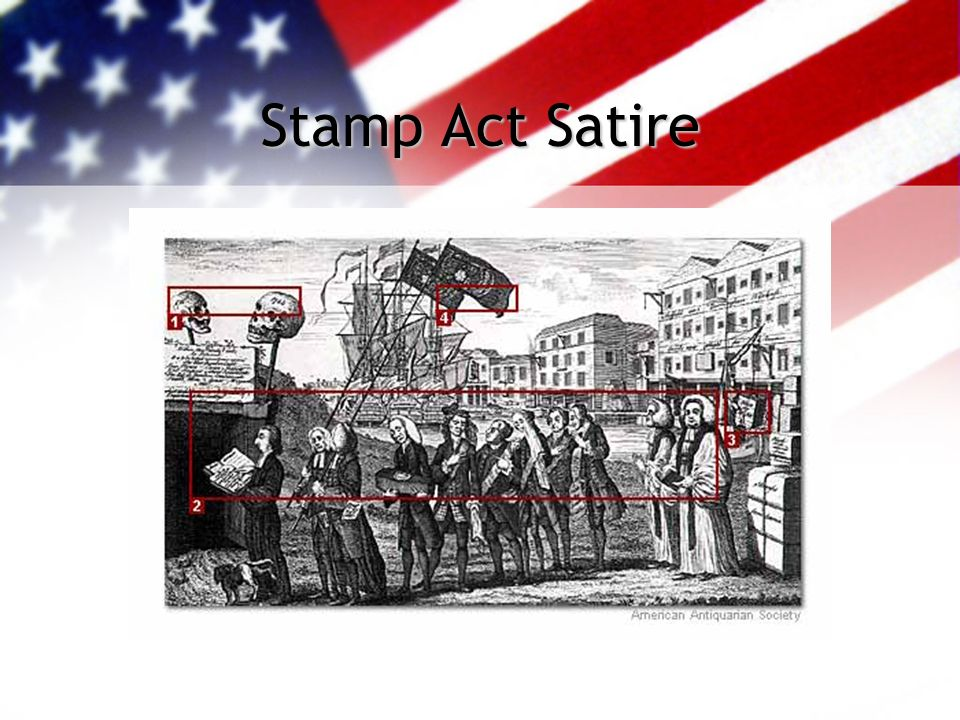 Stamp Act Satire
