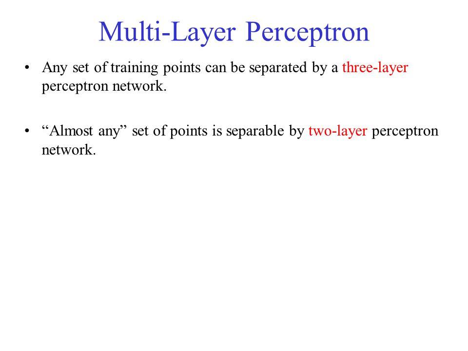 Multi-Layer Perceptron