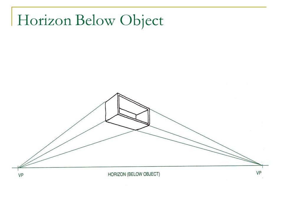Horizon Below Object