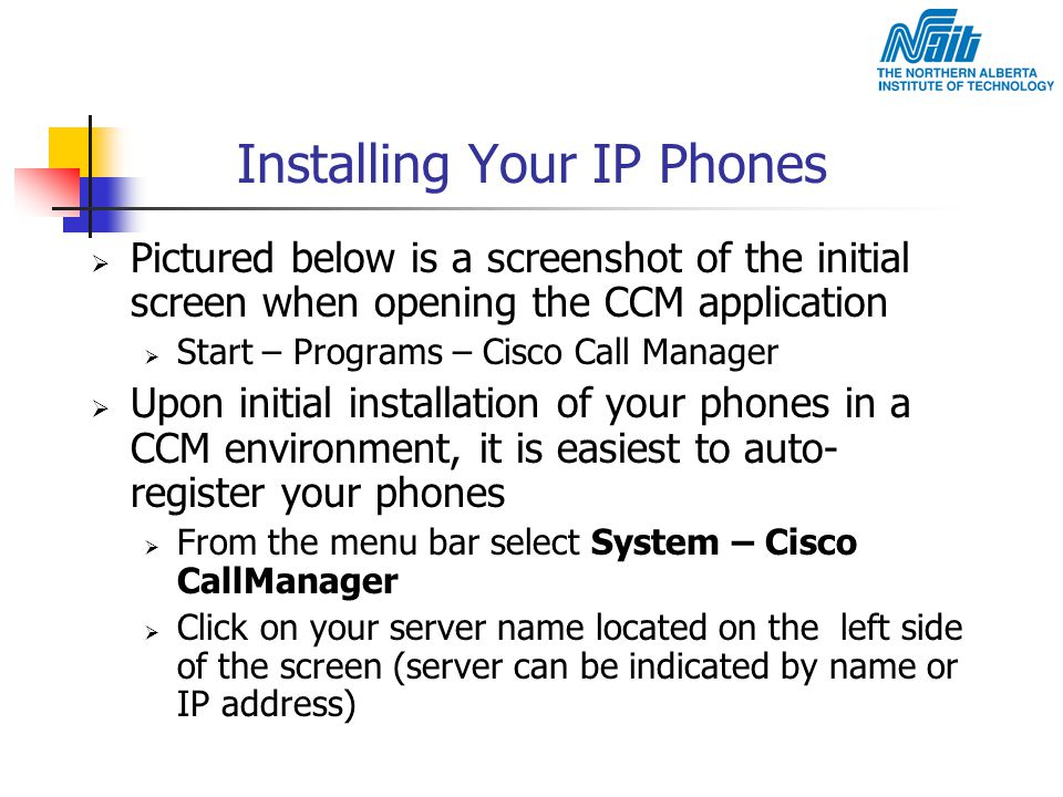 Installing Your IP Phones