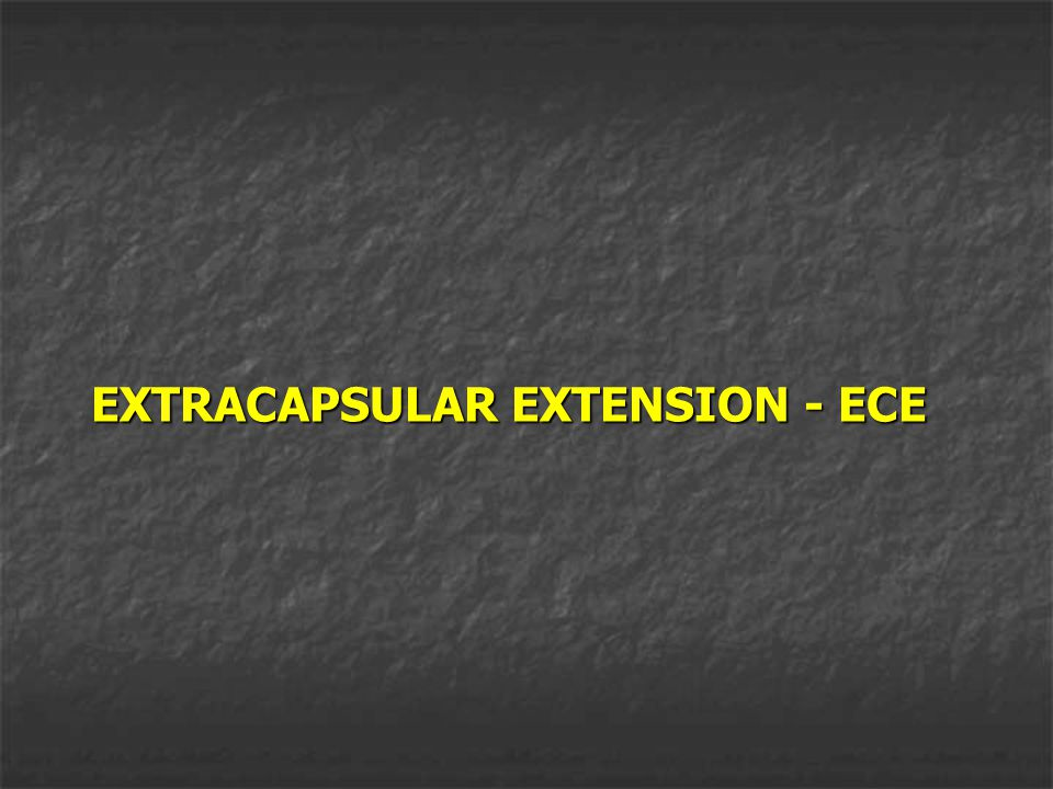EXTRACAPSULAR EXTENSION - ECE
