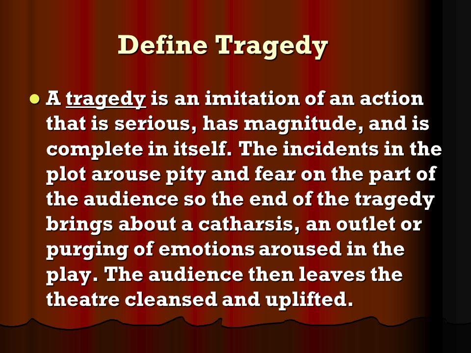 Define Tragedy