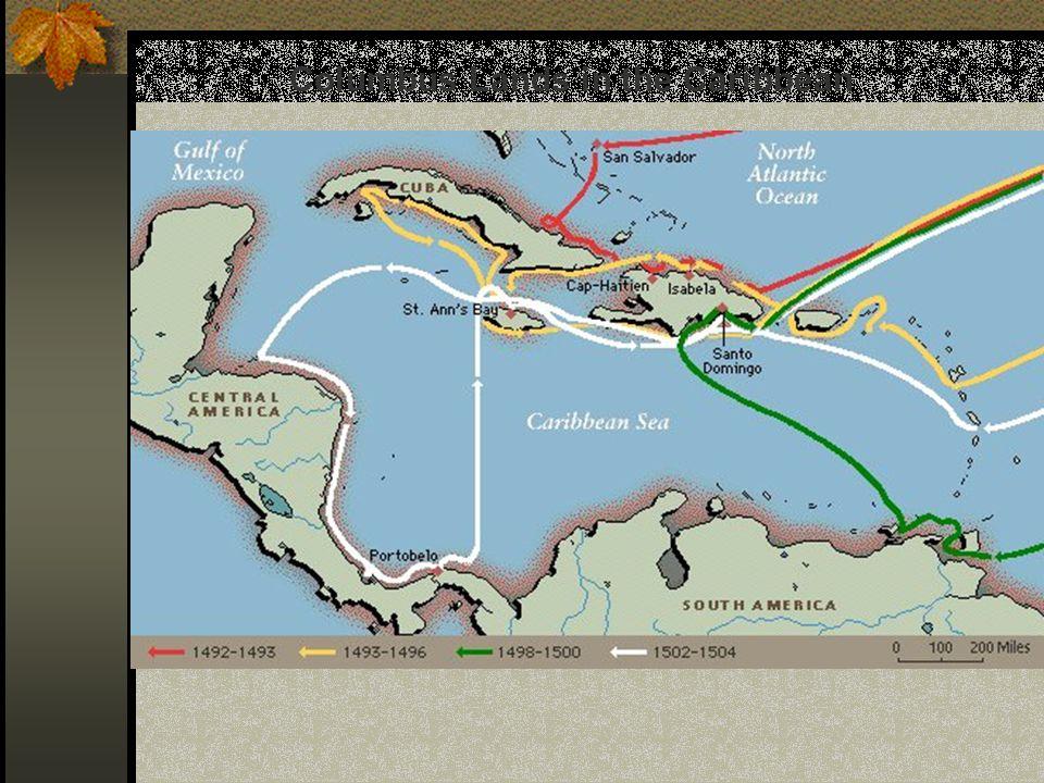 Columbus Lands in the Caribbean