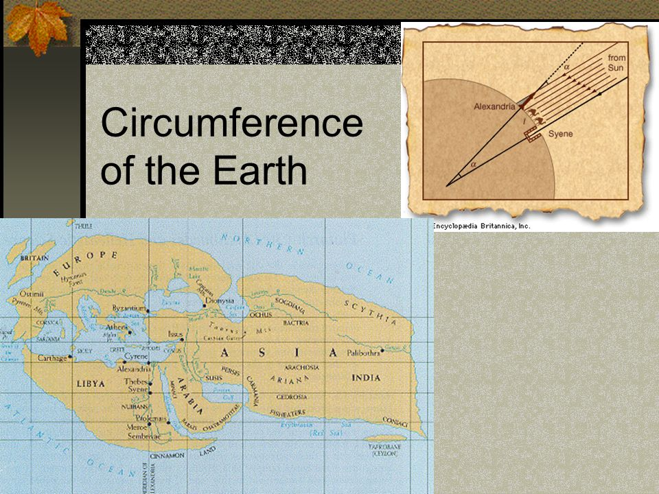 Circumference of the Earth