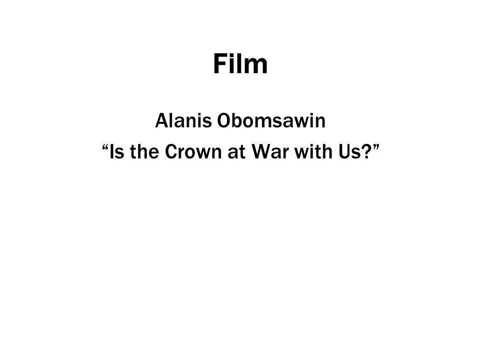 Is the Crown at War with Us