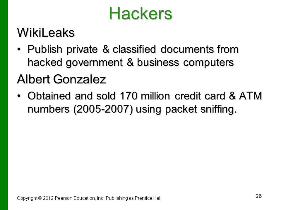 Hackers WikiLeaks Albert Gonzalez