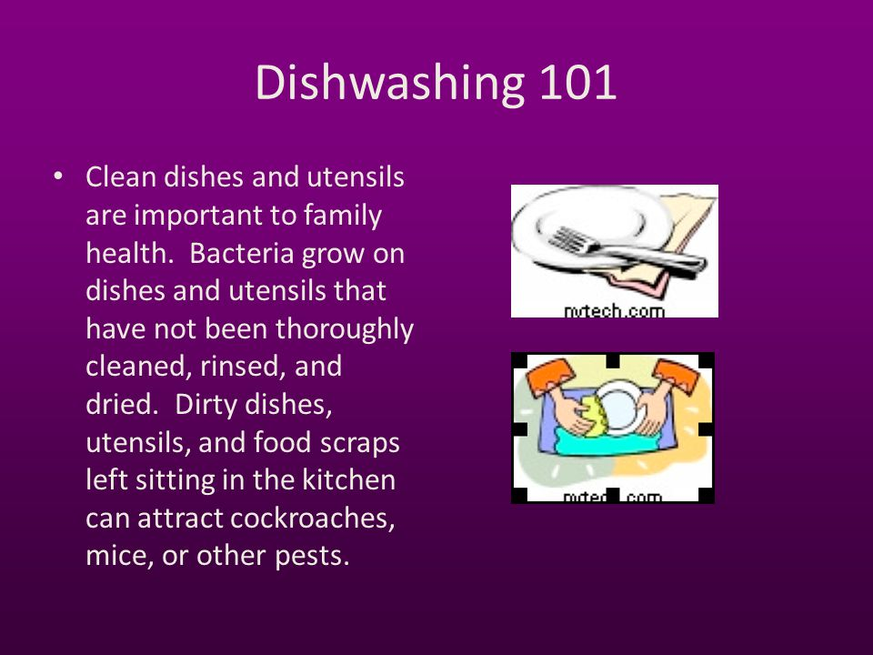Dishwashing 101