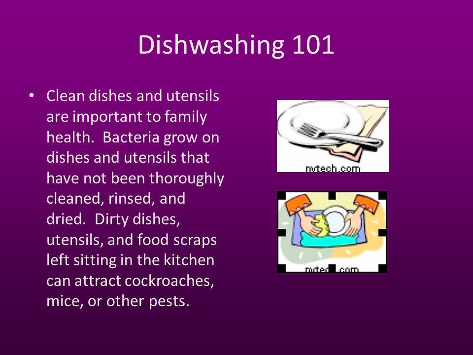 Dishwashing 101