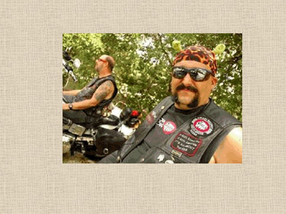 Bikers are usually thought of as big, mean and scary