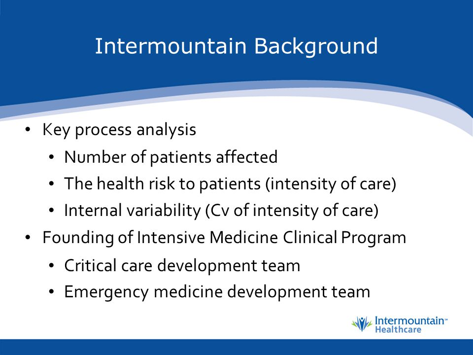 Intermountain Background