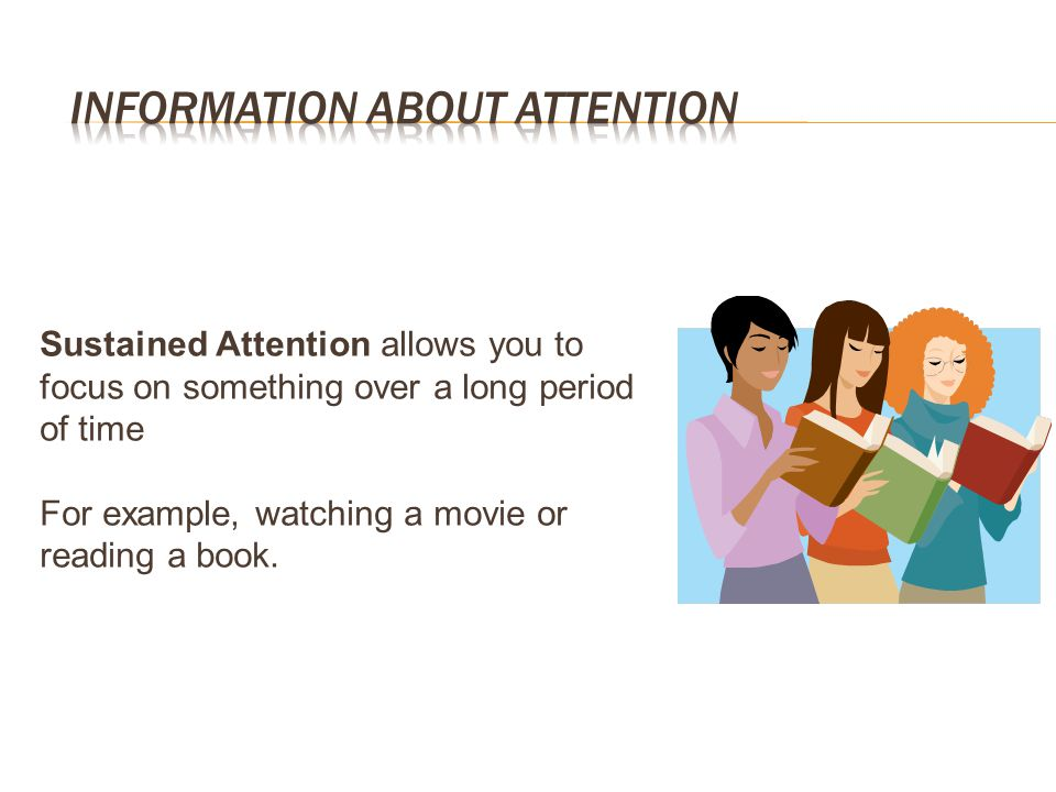 Information about Attention