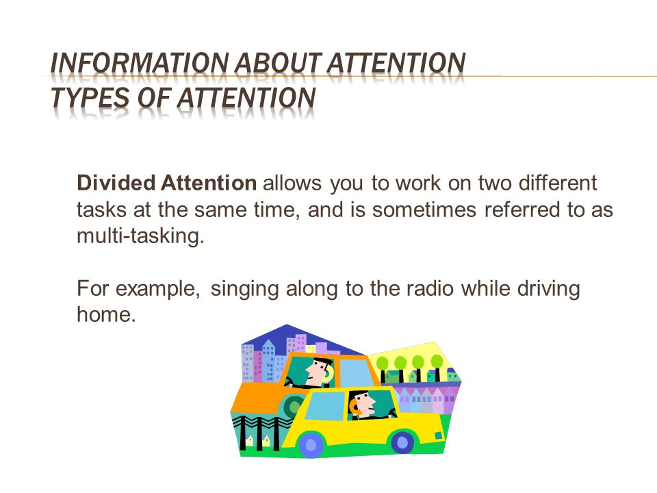 Information about Attention Types of Attention