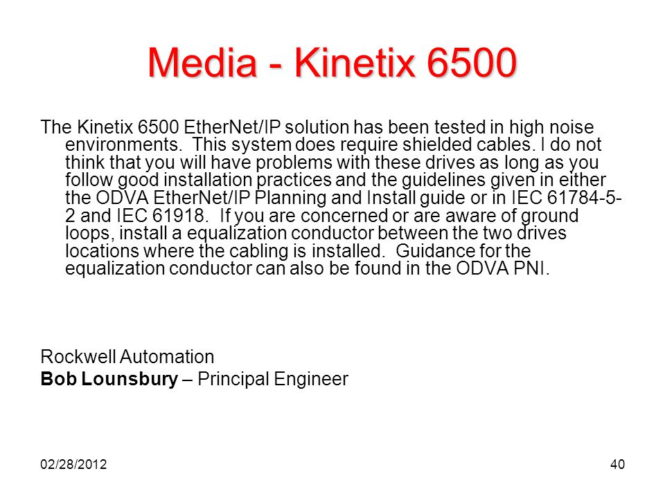Media - Kinetix 6500