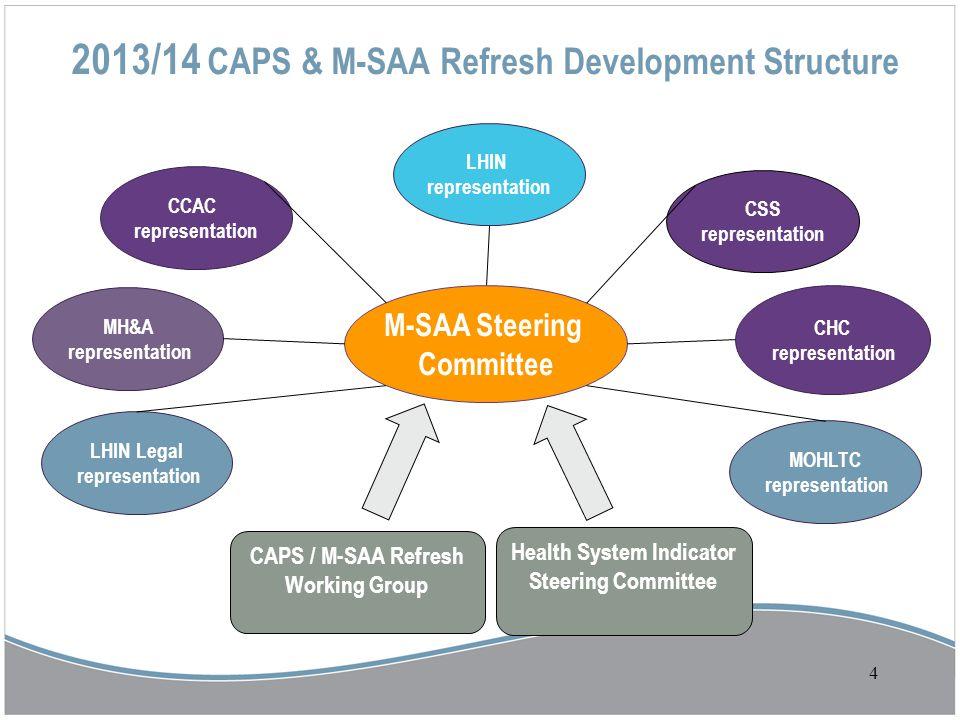 2013/14 CAPS & M-SAA Refresh Development Structure