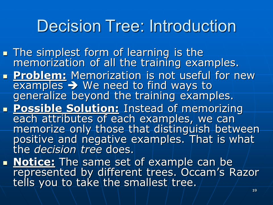 Decision Tree: Introduction