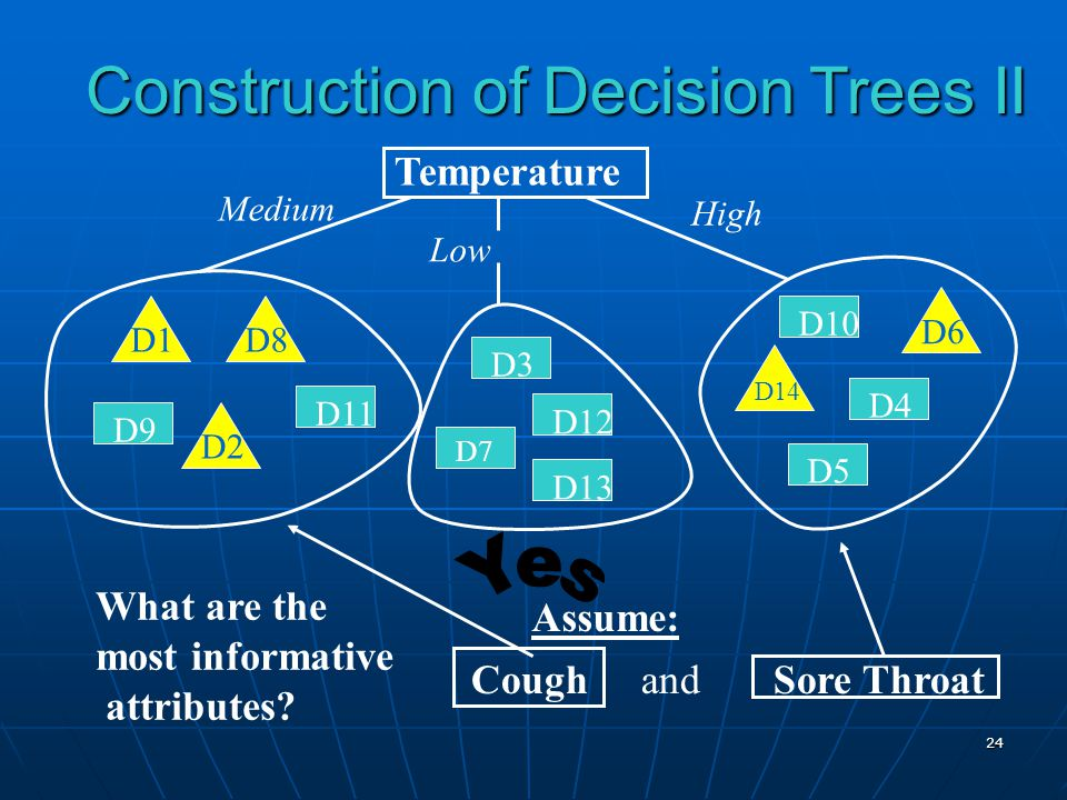 Construction of Decision Trees II