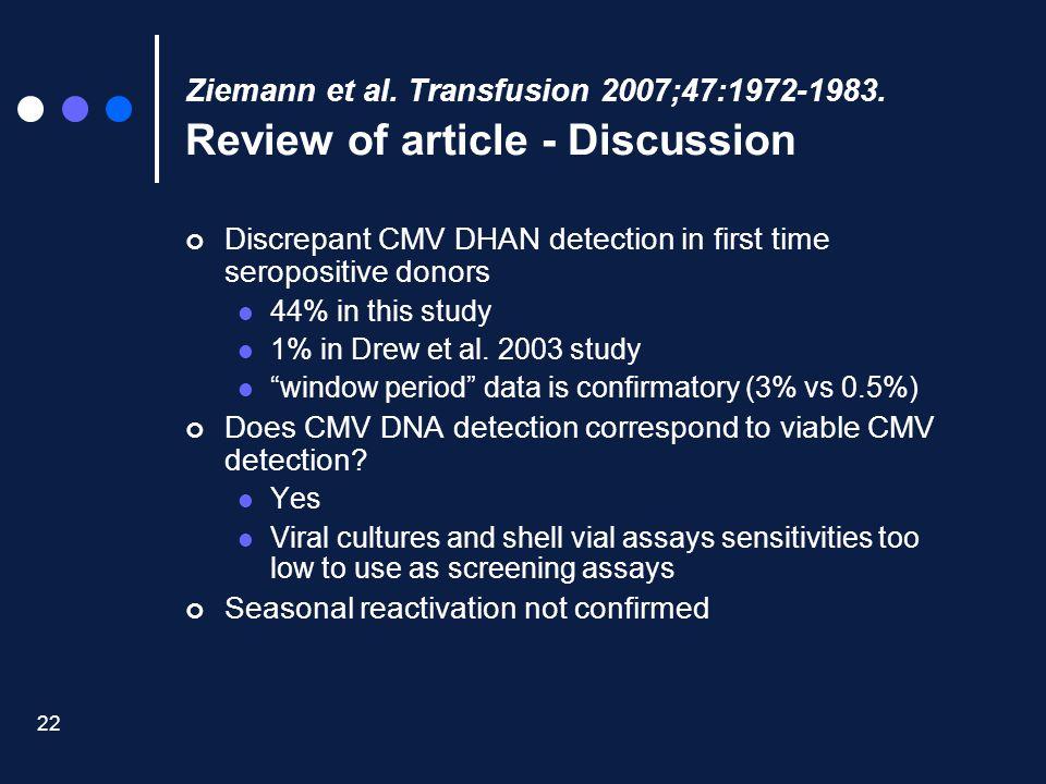 Ziemann et al. Transfusion 2007;47:1972-1983