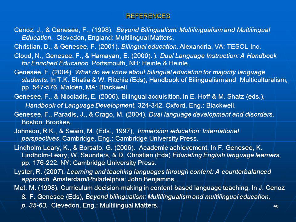 Handbook of Language Development, 324-342. Oxford, Eng.: Blackwell.
