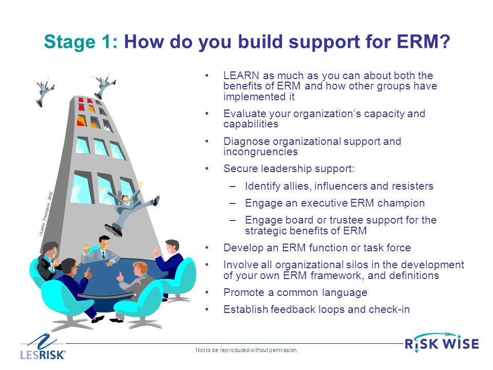 Stage 1: How do you build support for ERM