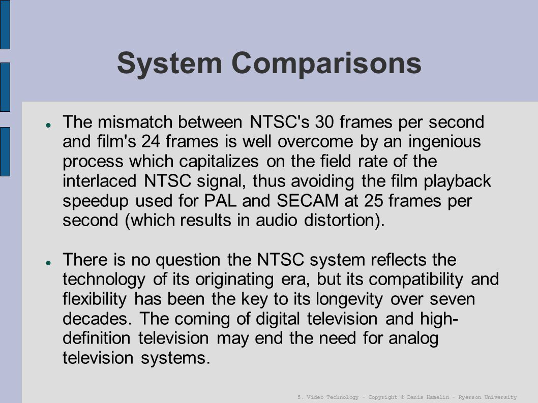 the characteristics of digital television and its comparison to the analog television era But one thing ultrasomething has done properly — at least in its comparison to a television series — is  digital/analog hybrid i know  of its era .