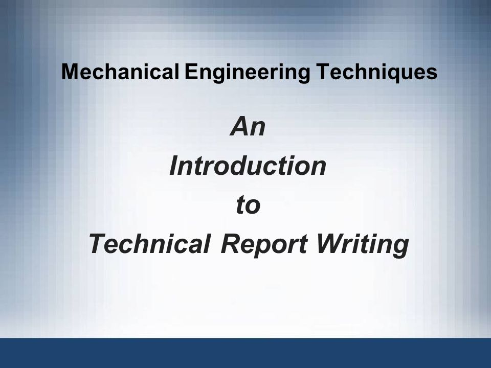 mechanical engineering siwes report