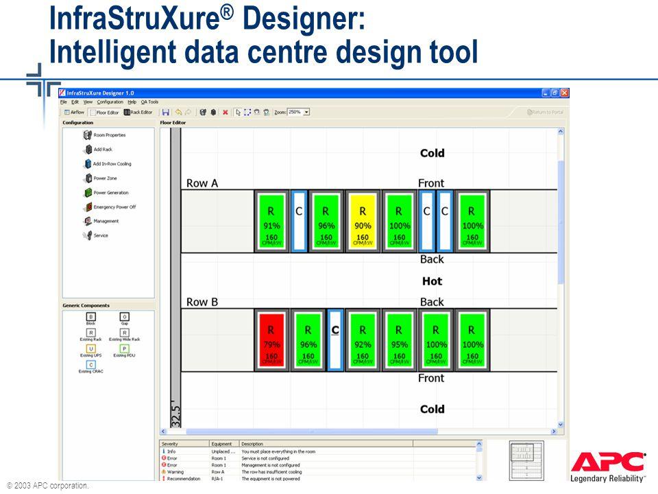 InfraStruXure® Designer: Intelligent data centre design tool