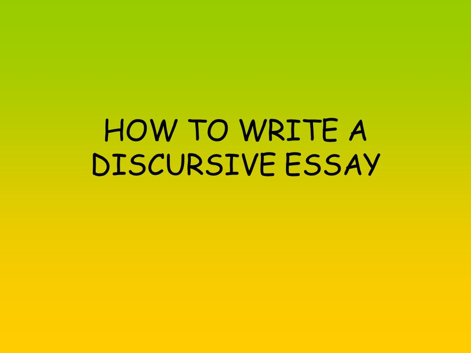 5+ Discursive Writing Samples and Templates – PDF