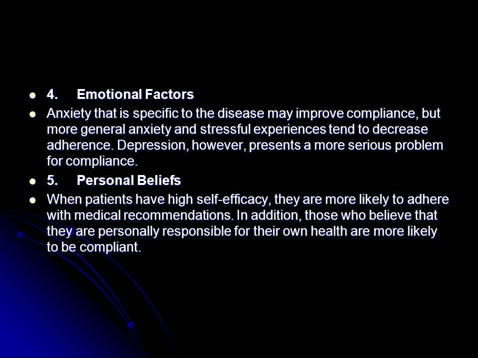 4. Emotional Factors