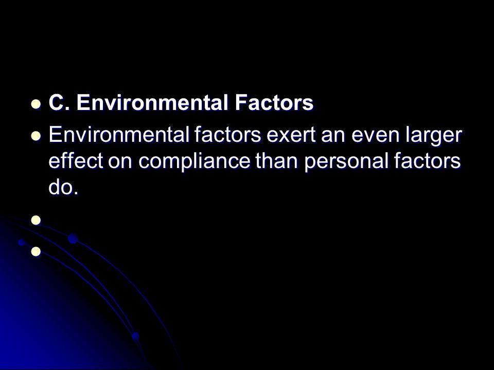 C. Environmental Factors