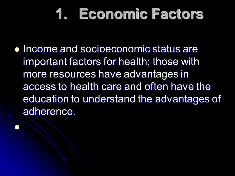 1. Economic Factors