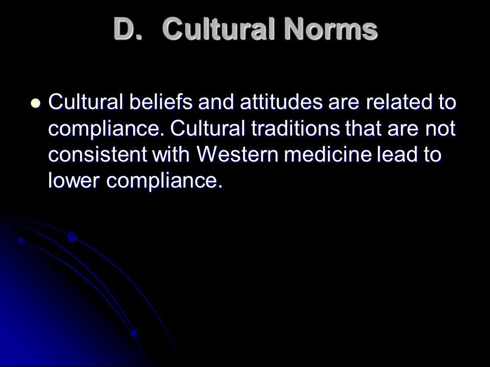 D. Cultural Norms