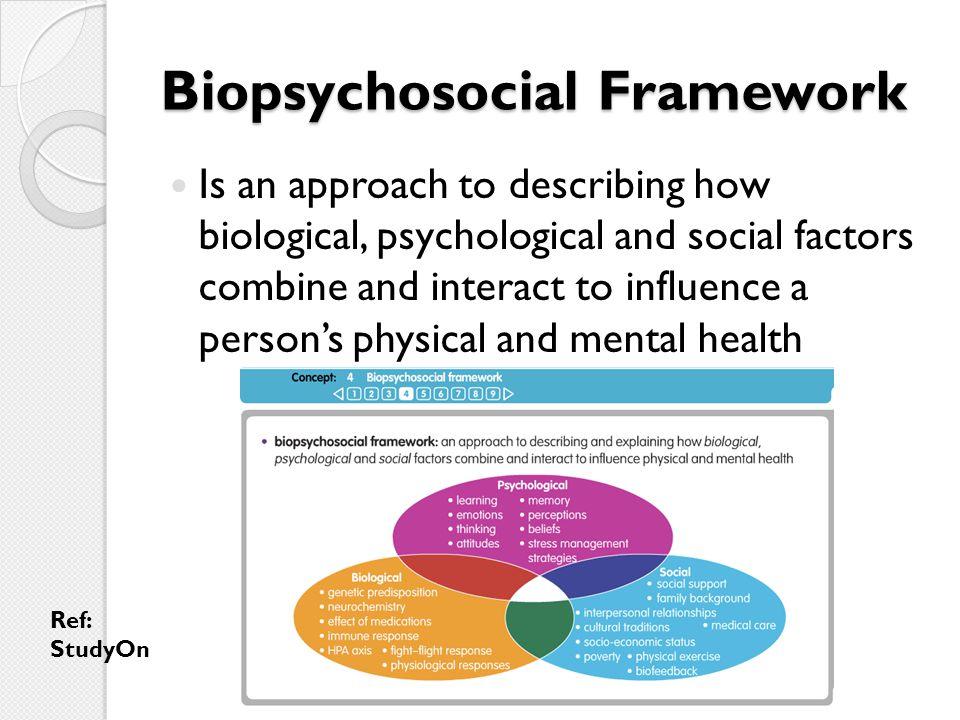 Biopsychosocial Framework