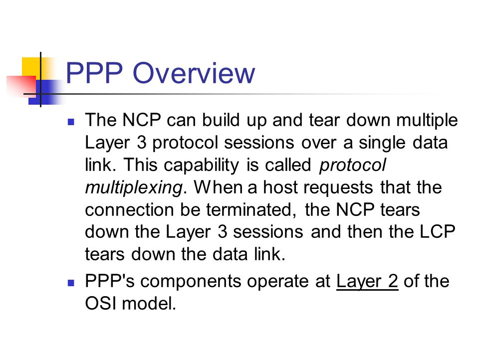 PPP Overview
