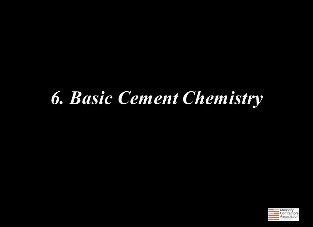 6. Basic Cement Chemistry