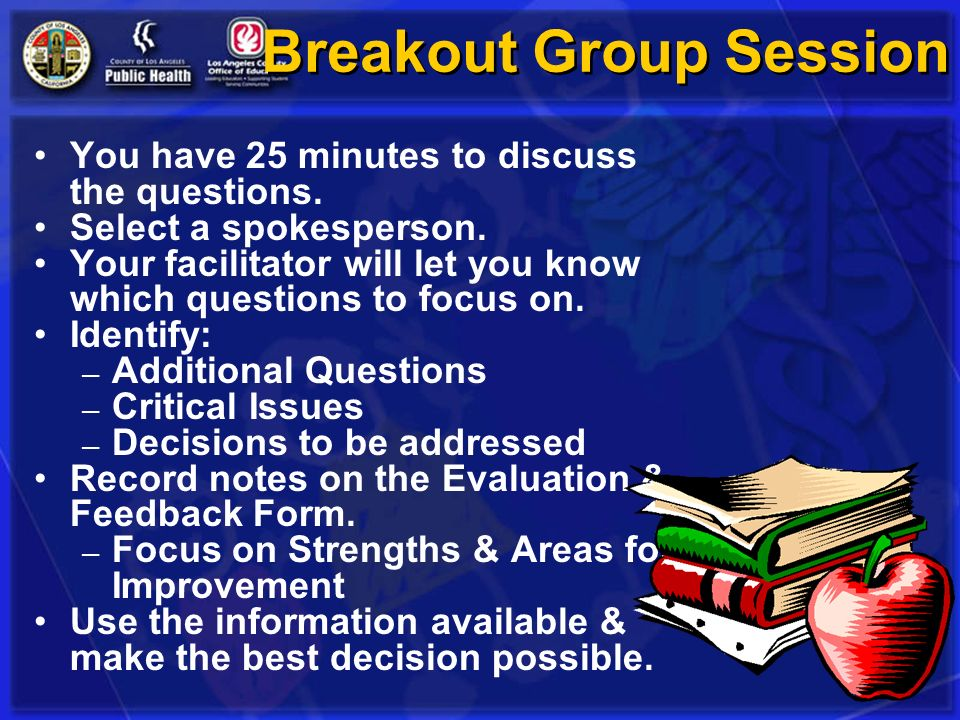 Breakout Group Session