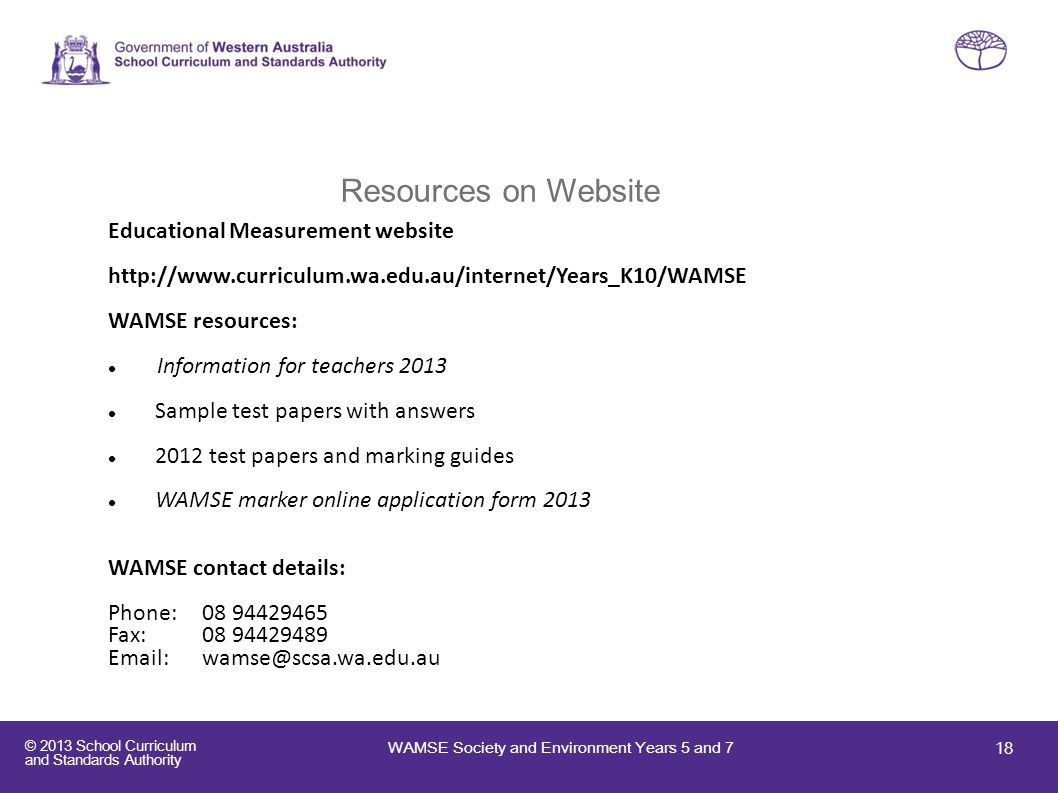 Resources on Website Educational Measurement website