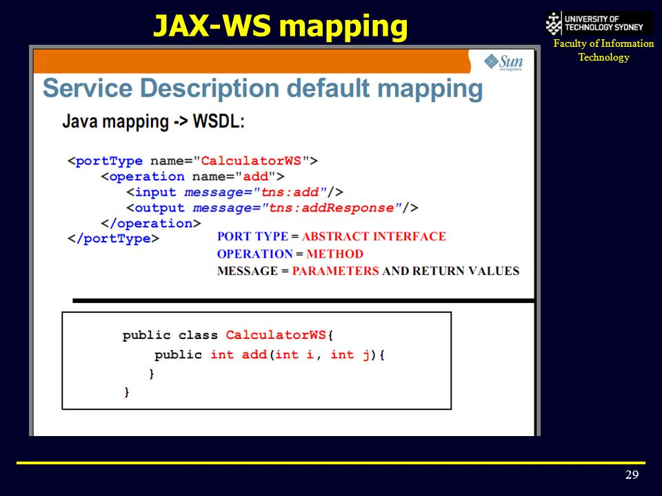 JAX-WS mapping