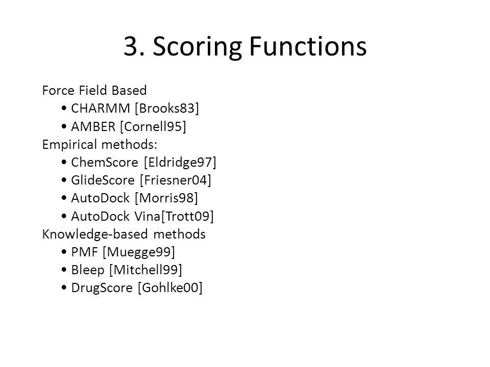3. Scoring Functions
