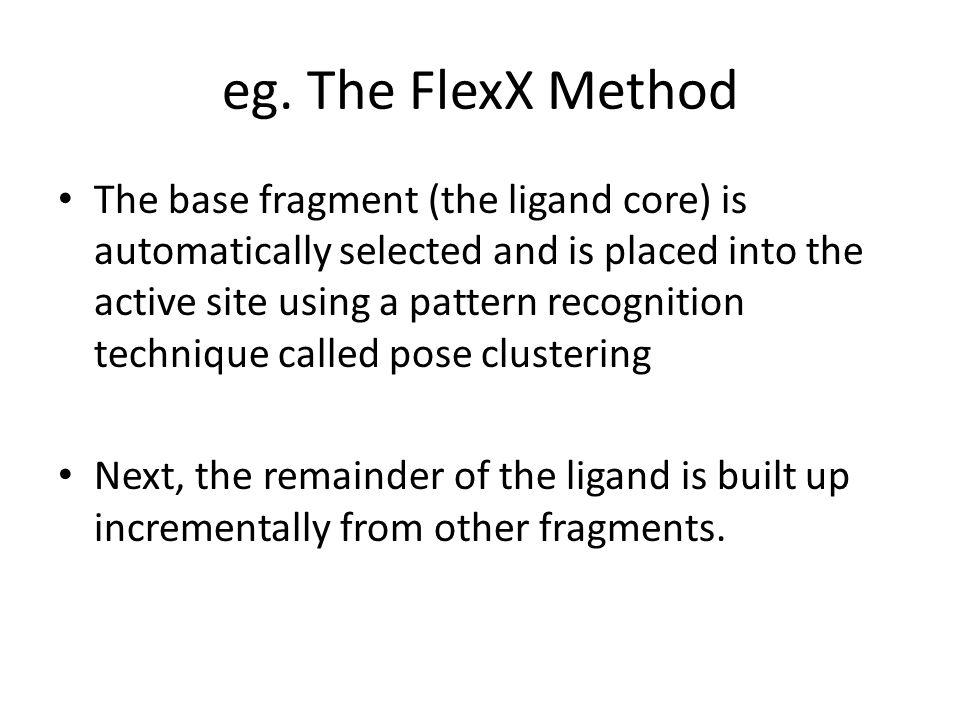 eg. The FlexX Method