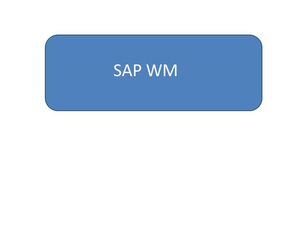 SAP WM